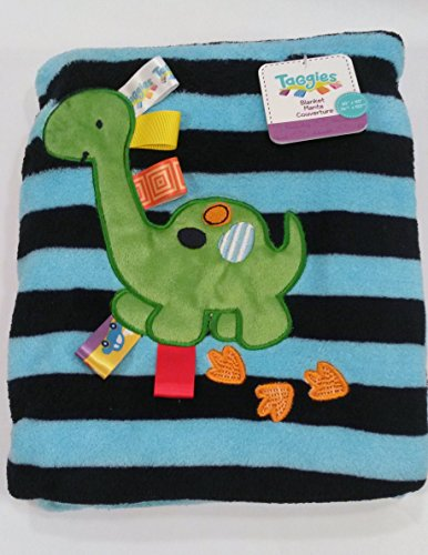 Taggies Silly Dinosaur Cozy Blanket