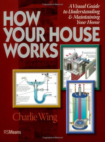 How Your House Works: A Visual Guide to Understanding & Maintaining Your Home - R.S. Means Company - 0876290152 - ISBN:0876290152