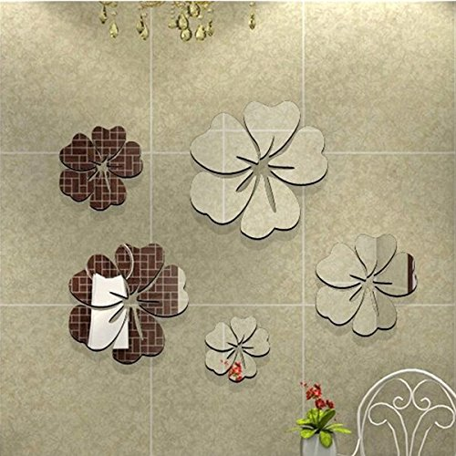 Soled meraviglio adesivo murale da parete tono argento - Unghie effetto specchio fai da te ...