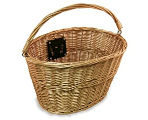 Nirve Wicker Bike Basket