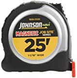 Johnson Level and Tool 1806-0025 25-Foot x 1 1/16-Inch JobSite Magnetic Tape