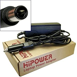 Hipower DC Car Automobile Power Adapter Charger For HP Pavilion DV7-6070, LP473UA, DV7-6187, LW178UA, DV7-6197, LY068UA, DV7-6B78, DV7-6B78US, A6S20UA, LW181UA, LY849UA, DV7-6178, DV7-6193CA, DV7-6B75, DV7-6B75NR, DV7-6C47CL, DV7-6C50, DV7-6C50CA, DV7-6C70, DV7-6C70CA, DV7-6C73, DV7-6C73CA, DV7-6C90, DV7-6C90US, DV7-6C91, DV7-6C91NR, DV7-5070, DV7-3157, WA726UA, DV7-3170, WA722UA, WA727UA, WA728UA, DV7-3178, WA730UA, DV7-3180, WA718UA, DV6-3090, WQ620UA, DV6-3093 Laptop Notebook Computers