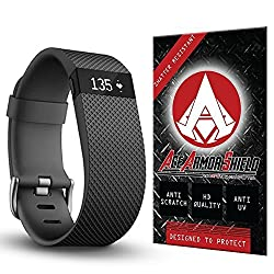 Ace Armor Shield Shatter Resistant Screen Protector for the Fitbit Charge HR (9 Pack)