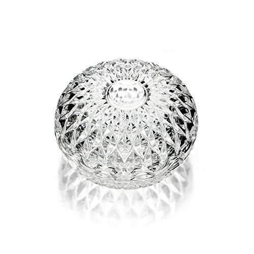 Crystal Round Jewelry Box