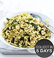Pasta Salad with Spinach & Pine Nuts