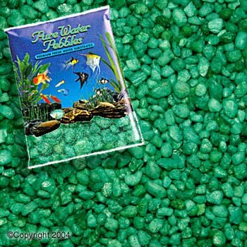Non Toxic Colorfast Gravel - Emerald Green, 5lb Per Bag