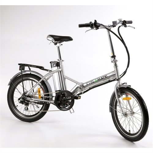 Why Should You Buy Cyclamatic Bicycle Electric Foldaway Bike with Lithium-Ion Battery