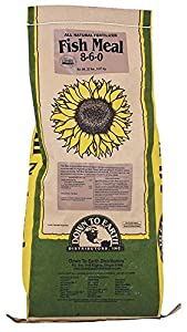 Down to earth fish meal fertilizer 20 lb for Fish meal fertilizer