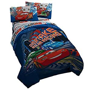 disney pixar cars twin sheet set childrens pillowcase and sheet sets