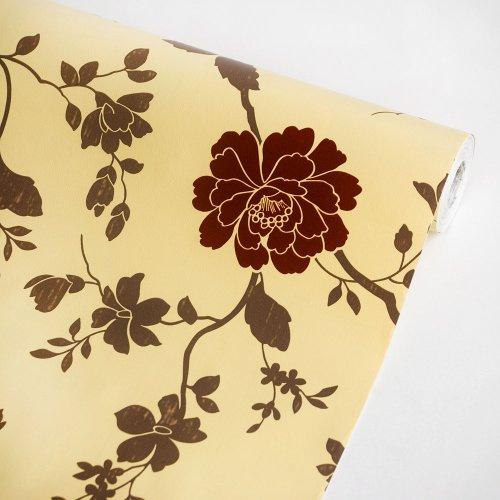 Elegant Peony-2 - Self-Adhesive Wallpaper Home Decor(Roll) front-441980