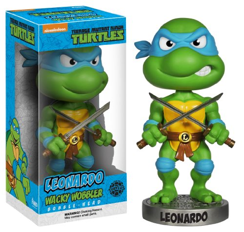 Funko Teenage Mutant Ninja Turtles: Leonardo Wacky Wobbler