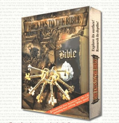 The Keys to the Bible - The best and richest Bible program ever made! Software for Windows