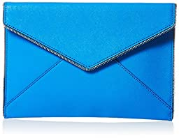 Rebecca Minkoff Leo Envelope Clutch, Grecian Blue, One Size