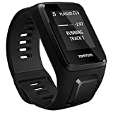 TomTom Spark 3 Cardio + Music, GPS Fitness Watch + Heart Rate Monitor + 3GB Music + Bluetooth Headphones (Black, Large)