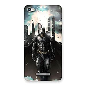 FROZEN VIBES Knight Walks Multicolor Back Case Cover for Micromax Hue 2