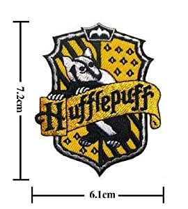 Harry Potter Crest Iron HUFFLEPUFF Patch Badge