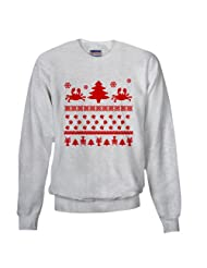 Seafood Christmas Sweater Sweatshirt CafePress