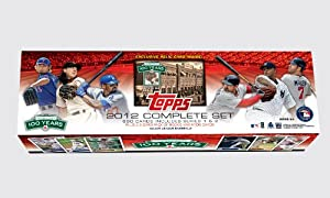 MLB Boston Red Sox 2012 Topps Fenway Factory Set by Topps