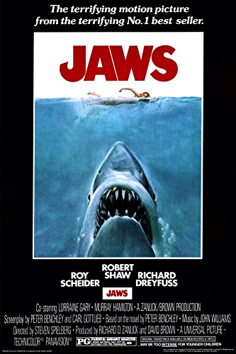 Poster Revolution 24-Inch by 36-Inch, Jaws Poster, Mint (Movie Posters compare prices)