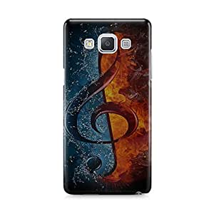 Motivatebox - Samsung Galaxy Grand 2:G7106 Back Cover - Mystical Feathers Polycarbonate 3D Hard case protective back cover. Premium Quality designer Printed 3D Matte finish hard case back cover.
