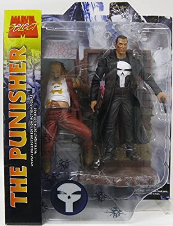 Diamond - Figurine Marvel select The Punisher