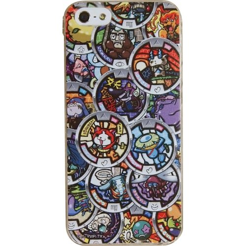 Youkai Watch Characters Hard Case for iPhone 5s/5 (Medals)