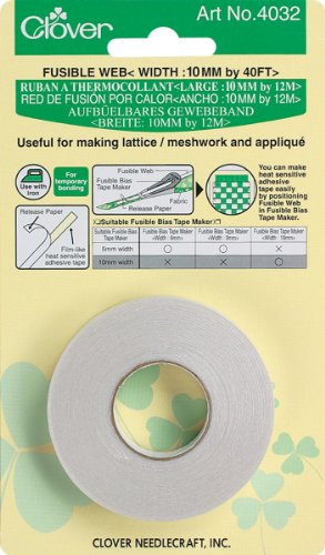 how to use clover fusible bias tape maker