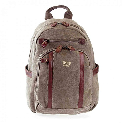 troop-london-classic-small-canvas-backpack-bag-trp0255-brown