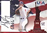 MLBカード【グレッグ ピーヴィー】2006 USA Baseball Signatures Black 595枚限定!(073/595)(Greg Peavey)