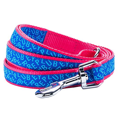 Blueberry Pet Dog Leashes 5/8-Inch By 5-Foot Chic & Fashionable Blueberry Pet Statement Dog Leash, Small front-770446