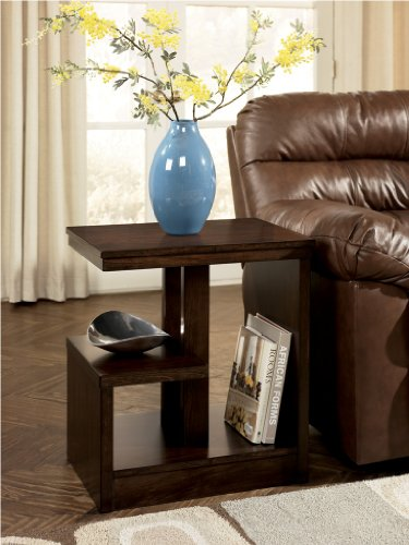 Cheap DarkBrown Side End table by Famous Brand Furniture (T670-7)