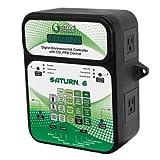 Titan Controls 702852 Saturn 6 Digital Environmental Controller with Carbon Dioxide Gas PPM Control