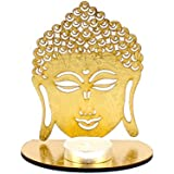 Giftacrossindia Shadow Diya Tealight Candle Holder Of Removable Buddha For Diwali Home Decor Gift Collection