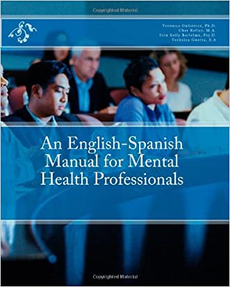 An English-Spanish Manual for Mental Health Professionals