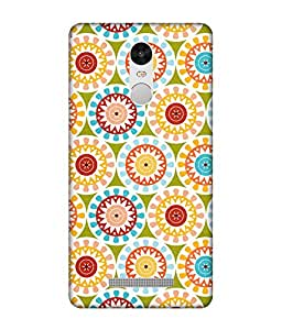 small candy 3D Printed Back Cover For Xiaomi Redmi Note 3 -Multicolor pattern