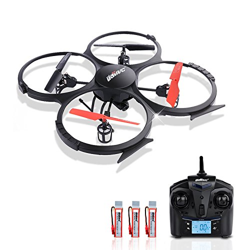 Potensic UDI 818A 2.4G 4CH 6-Axis Gyro RC Quadcopter Drone UFO with HD