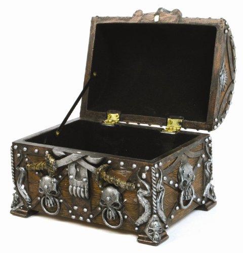 treasure chest store: Pirate's Treasure Chest Trinket / Mini Jewelry ...