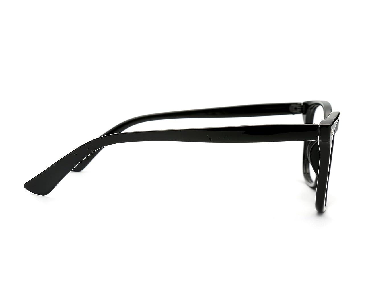 TIJN Unisex Wayfarer Non-prescription Glasses Frame Clear Lens Eyeglasses 2