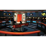 RoomMates JL1171M Star Trek Bridge Prepasted Chair Rail Wall Mural