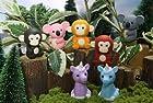 Iwako Japanese Erasers / Jungle Animals 7 pcs.