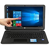 HP 15-F211WM 15.6-Inch Touchscreen Laptop (Intel Celeron N2840, Dual Core, 4GB, 500GB HDD, DVD-RW, WIFI, HDMI, Windows 10)
