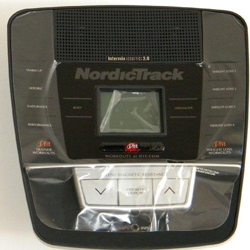 Nordic Track Elliptical: Nordic Track Elliptical Console