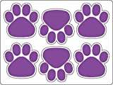6 Pack Mini Paws Auto Magnet - OUR BEST SELLER! (Purple/White)