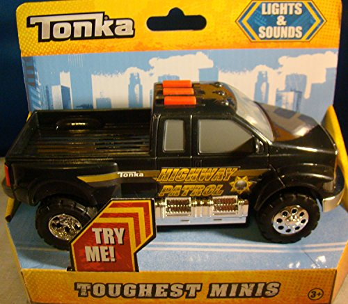 Tonka Toughest Minis Lights & Sounds - Highway Patrol Pick-up (Tonka Pickup Truck compare prices)