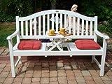 Gartenbank-Holzbank-Eukalyptusbank-mit-ausklappbarem-Tisch-Eukalyptus-Holz-FSC-wei-lackiert-3-Sitzer-Bank