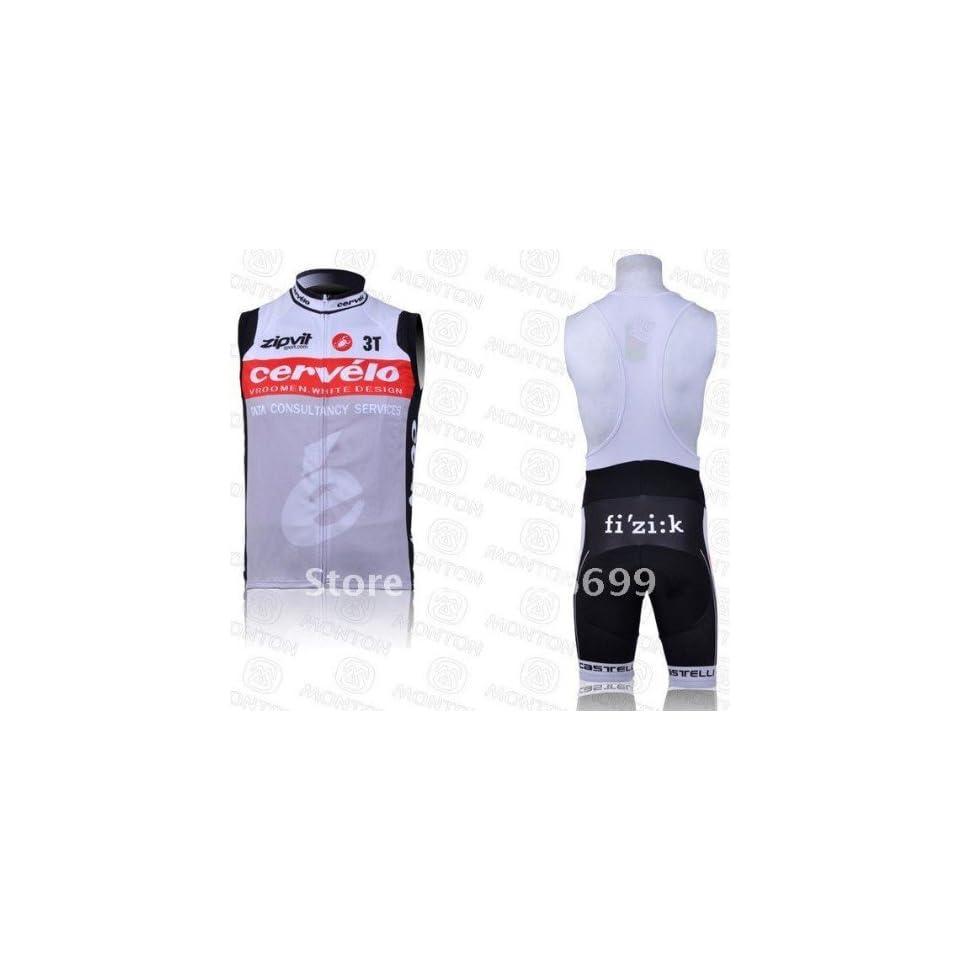 2010 cervelo vest cycling jerseys and bib short set cycling wear cycling  clothing bike jersey 926375899