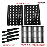 Brinkmann Pro Series 2600 Gas Grill Repair Kit Replacement Grill Burners, Cooking Grid, & Heat Plate thumbnail