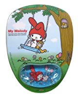 My Melody Mouse Pad with Wrist Rest- Sanrio My Melody Mouse Pad