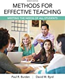 Methods for Effective Teaching: Meeting the Needs of All Students, Enhanced Pearson eText with Loose-Leaf Version -- Access Card Package (7th Edition)