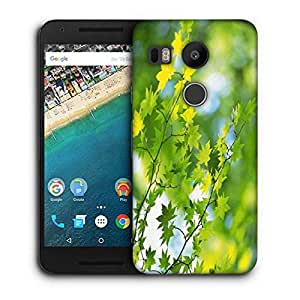 Snoogg Leavesin Branches Printed Protective Phone Back Case Cover For LG Google Nexus 5X